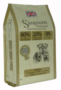 Simpsons dog food